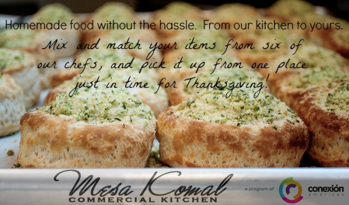 Mesa Komal Thanksgiving Order