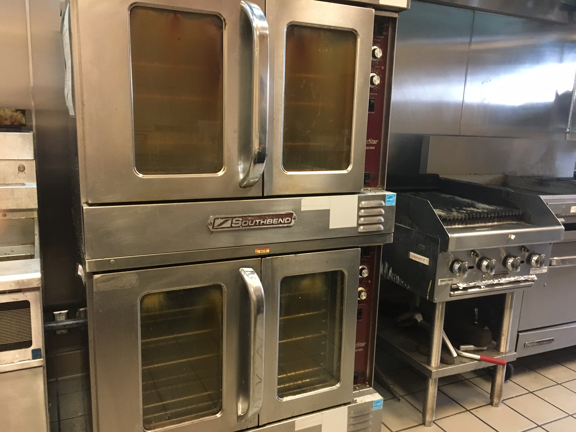 4 convection ovens
